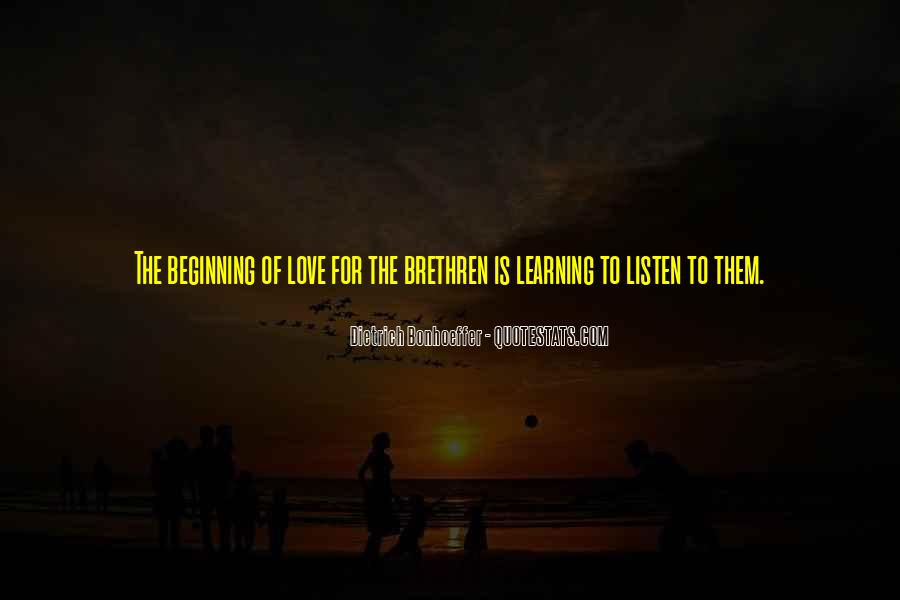 Quotes About Learning To Love Others #49654