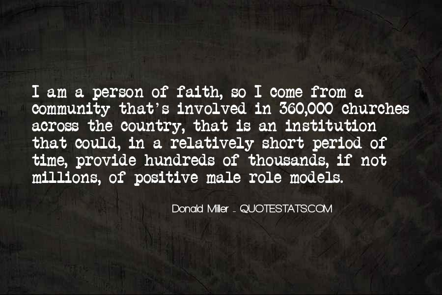 Quotes About Positive Role Models #1600331