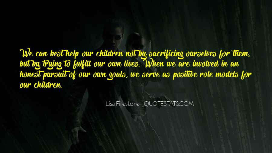 Quotes About Positive Role Models #511366