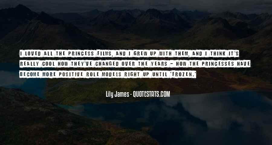 Quotes About Positive Role Models #914843