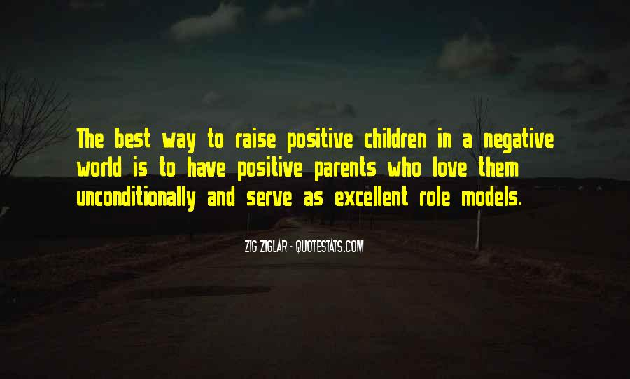 Quotes About Positive Role Models #976432
