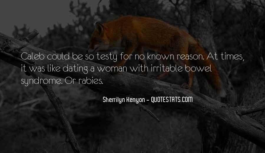 Quotes About Irritable #1474942