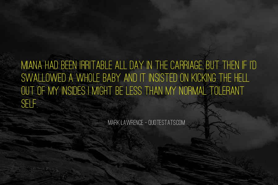 Quotes About Irritable #153047