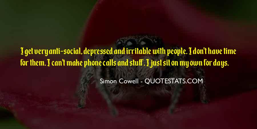 Quotes About Irritable #1747225