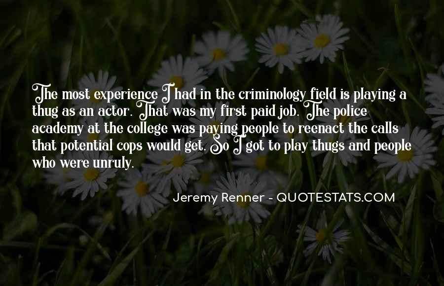 Quotes About Criminology #943930