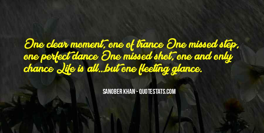 Quotes About Short Trance #1427551