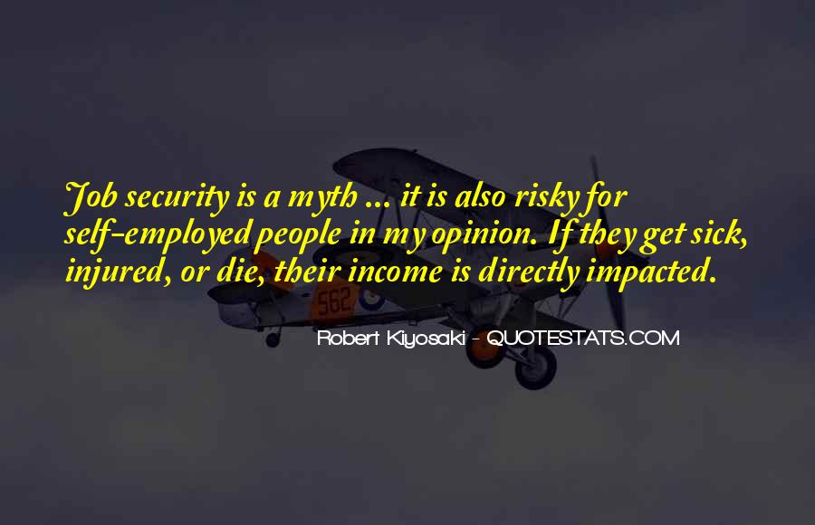 Quotes About Job Security #1012253