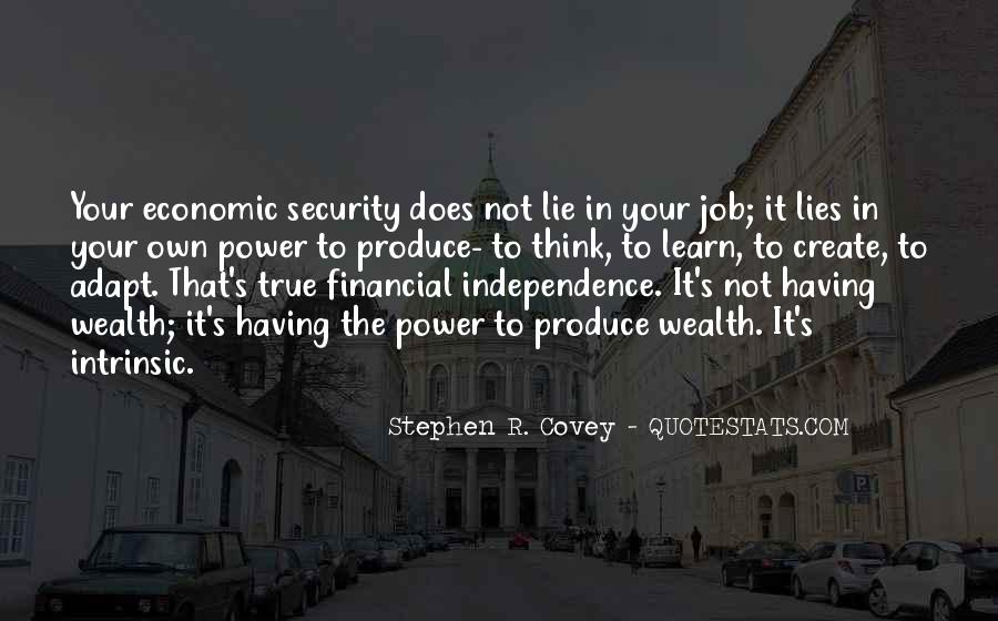 Quotes About Job Security #1298160