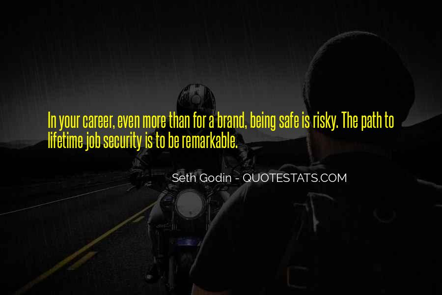 Quotes About Job Security #161477