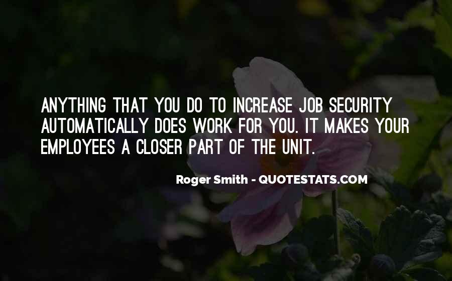 Quotes About Job Security #419044
