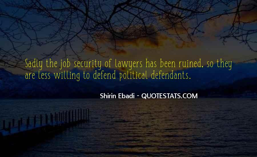 Quotes About Job Security #419577