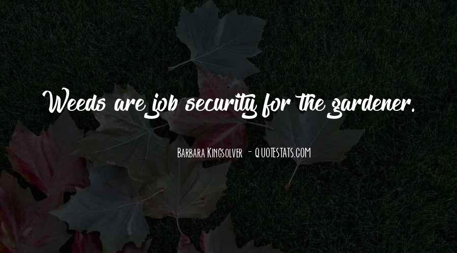 Quotes About Job Security #423546