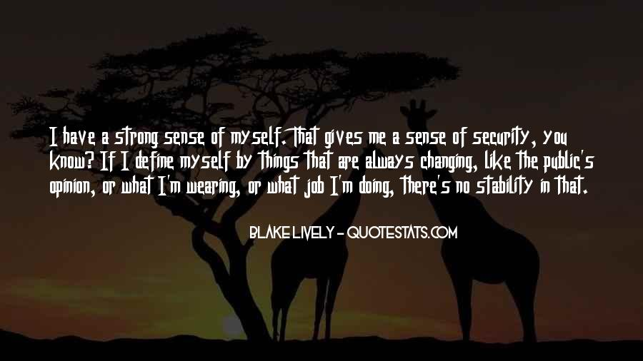 Quotes About Job Security #53228