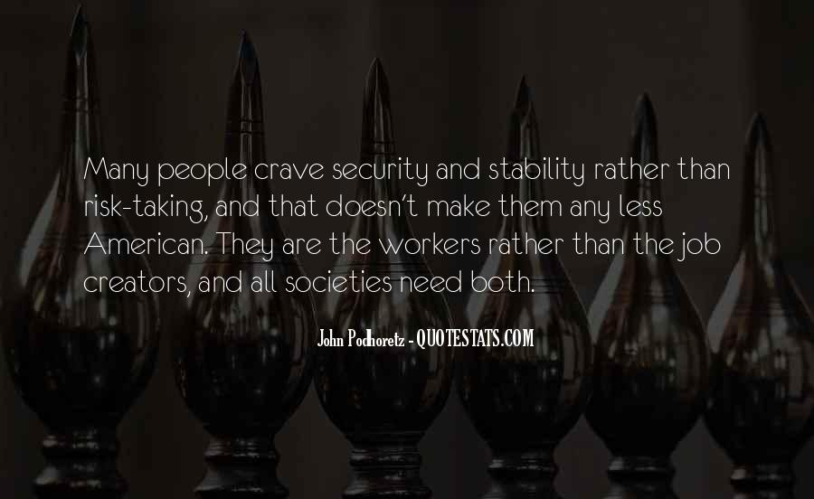 Quotes About Job Security #544496