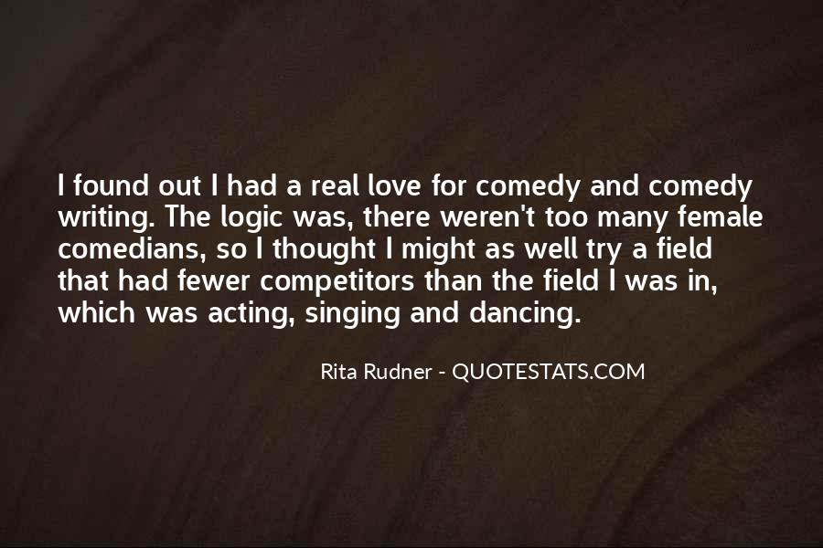 Quotes About Love By Comedians #1061914