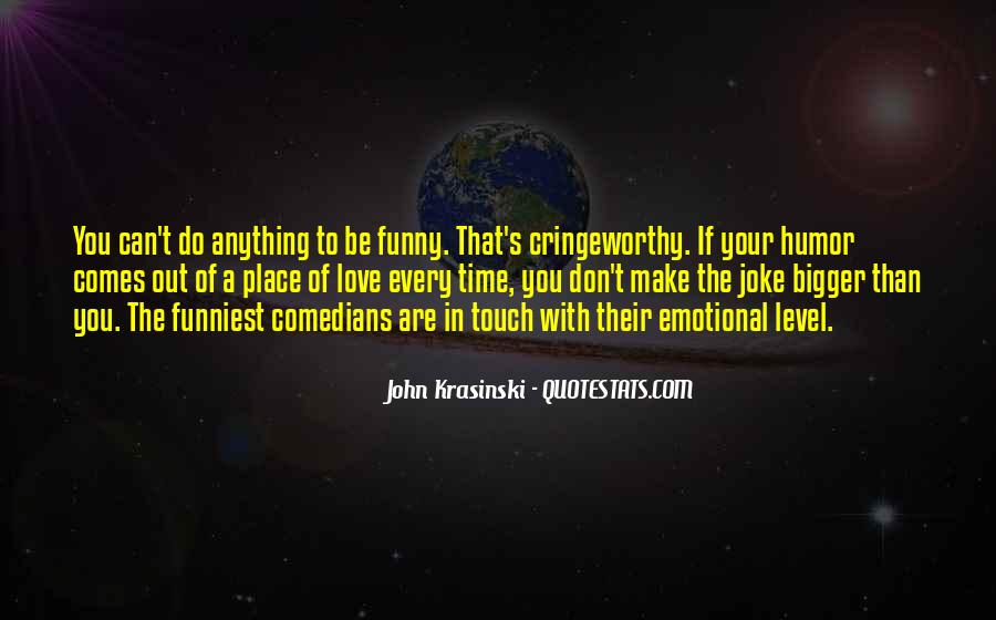 Quotes About Love By Comedians #1118065