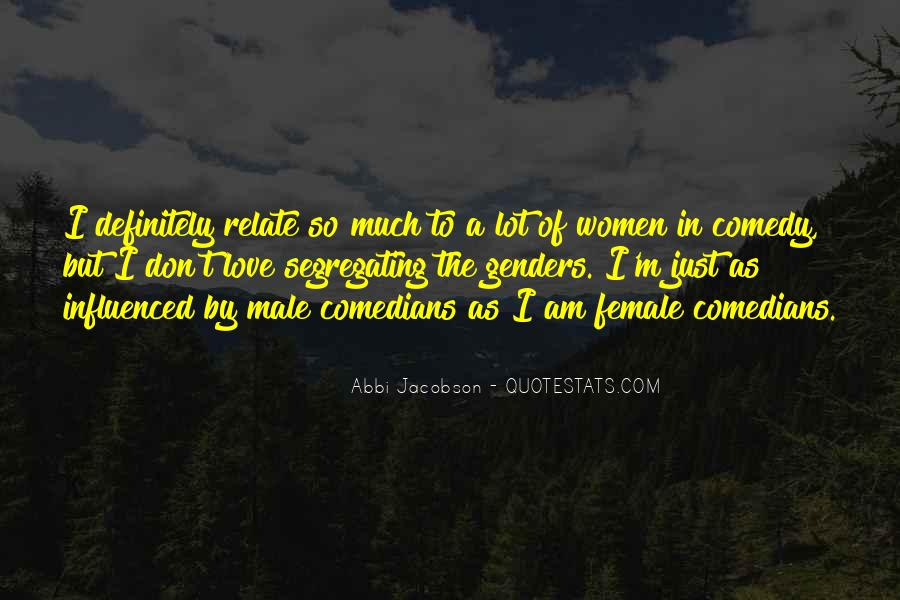 Quotes About Love By Comedians #1149453