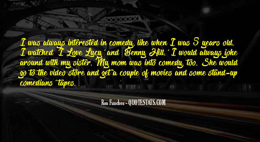 Quotes About Love By Comedians #1762983