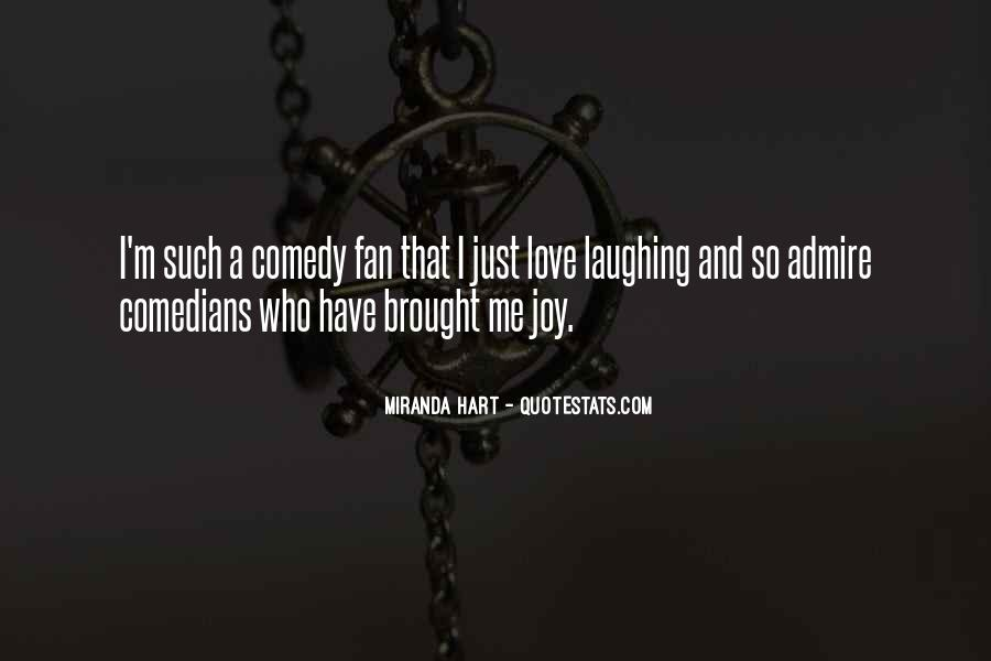 Quotes About Love By Comedians #377010