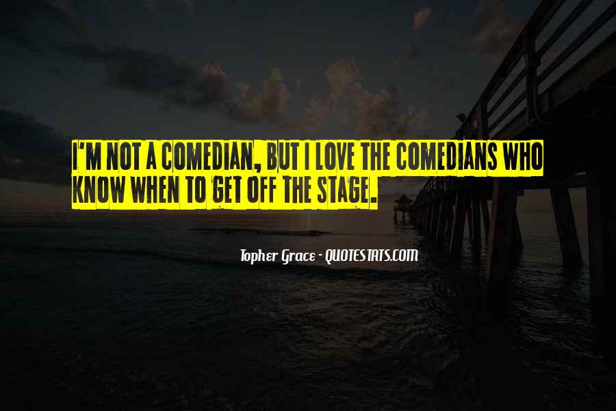 Quotes About Love By Comedians #769215