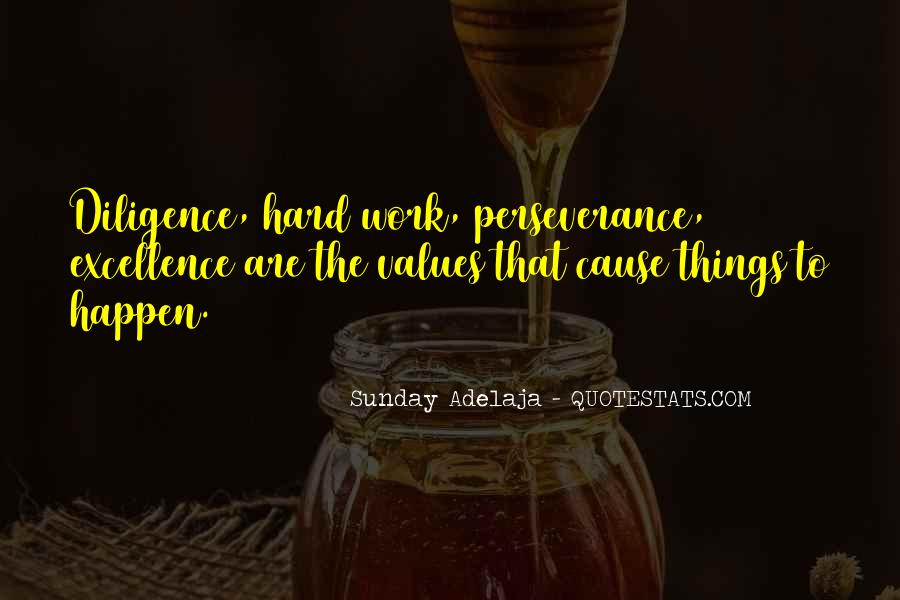 Quotes About Diligence And Hard Work #1321310