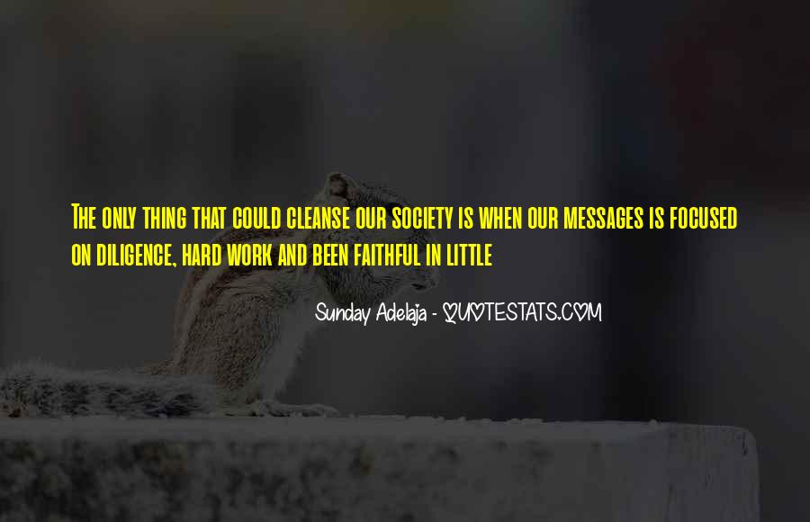 Quotes About Diligence And Hard Work #176452