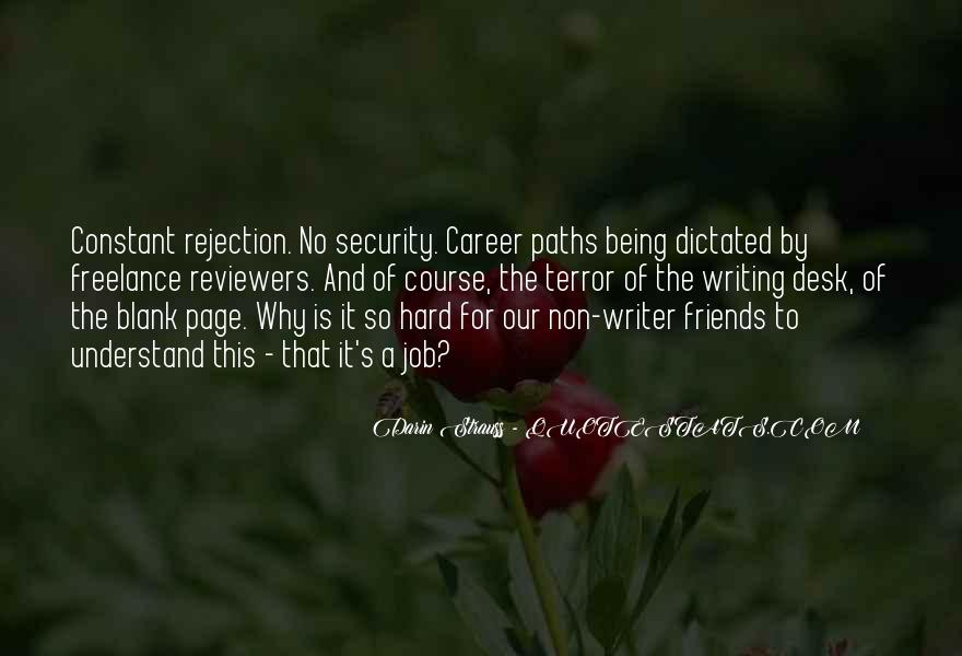 Quotes About Career Paths #456659