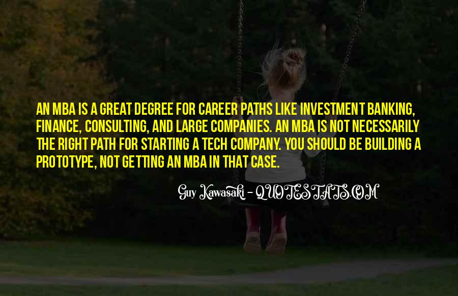 Quotes About Career Paths #488324