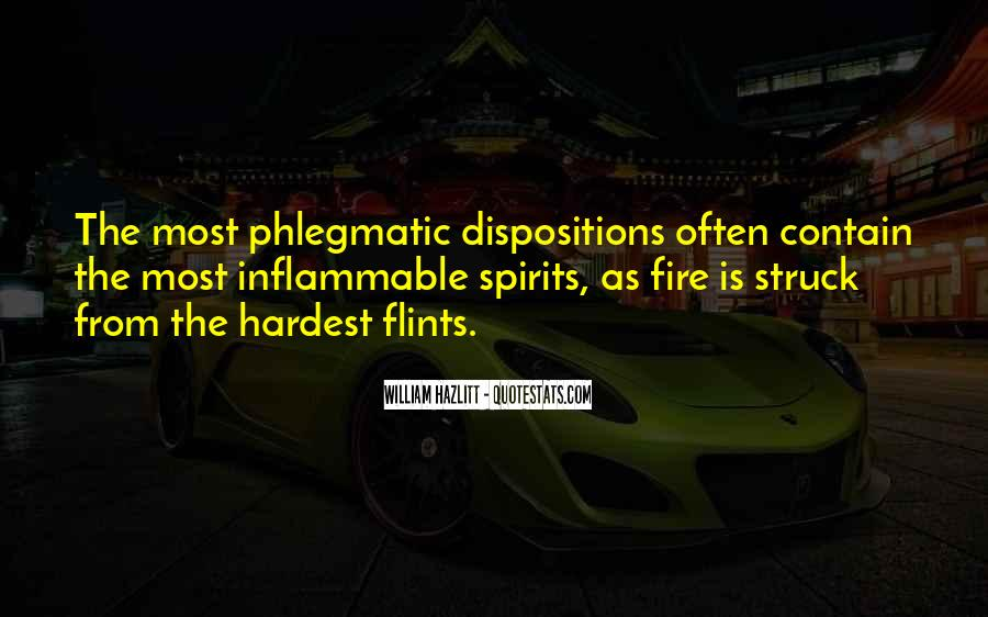 Quotes About Phlegmatic #570947