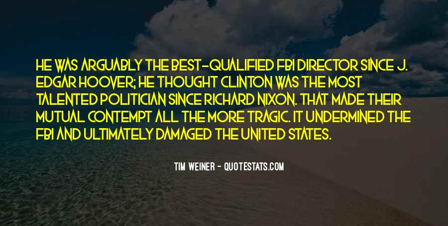 Quotes About Clinton #12165