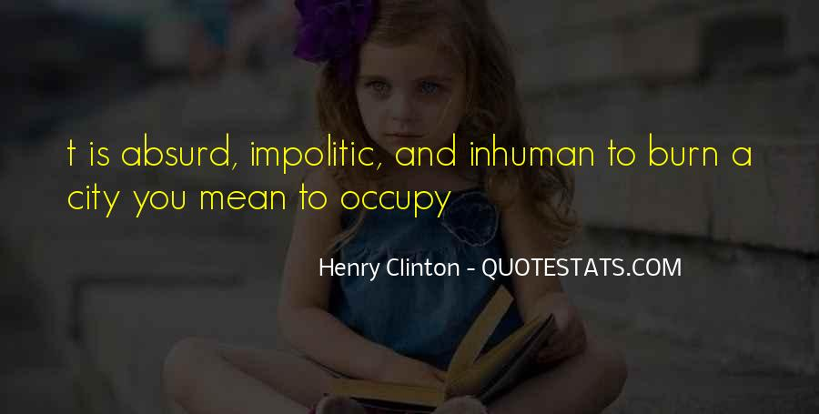 Quotes About Clinton #15833