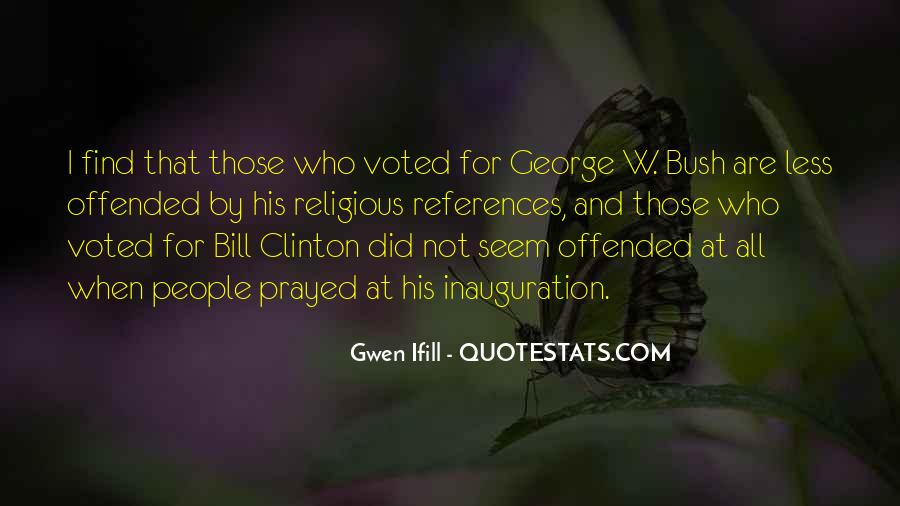 Quotes About Clinton #36831