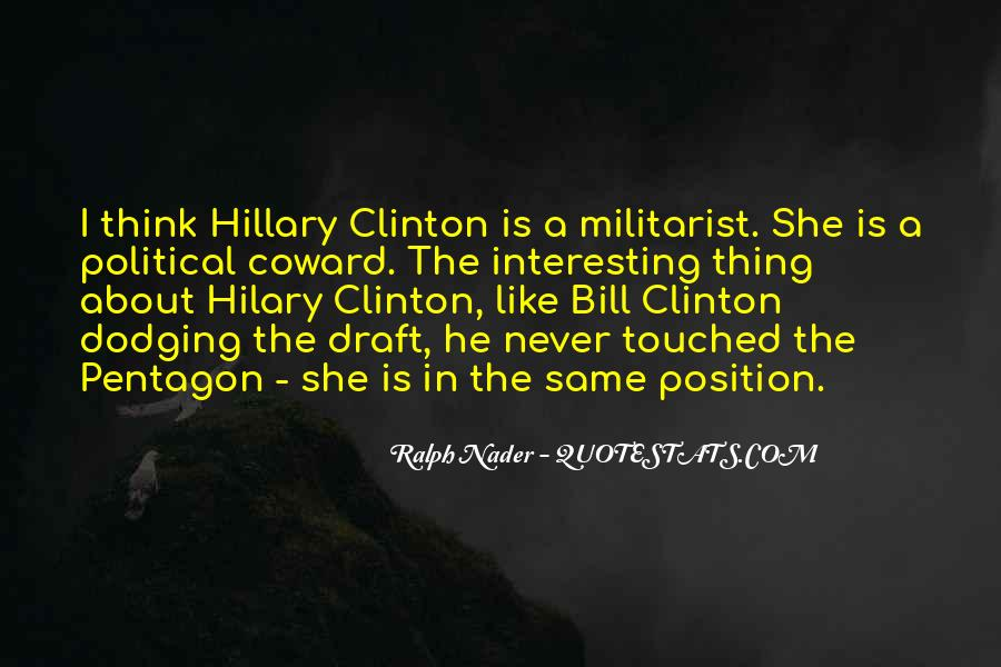 Quotes About Clinton #4549