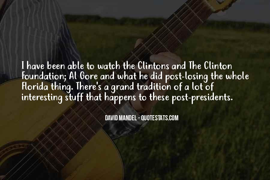 Quotes About Clinton #49964