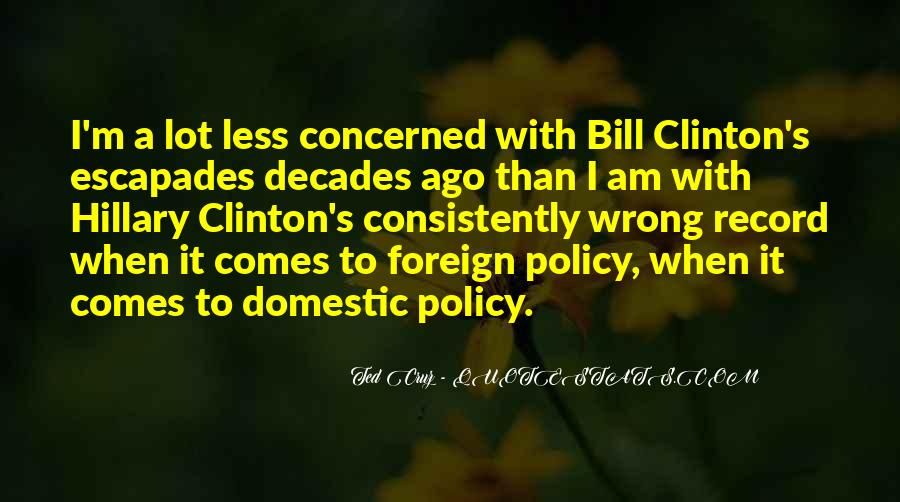 Quotes About Clinton #51517