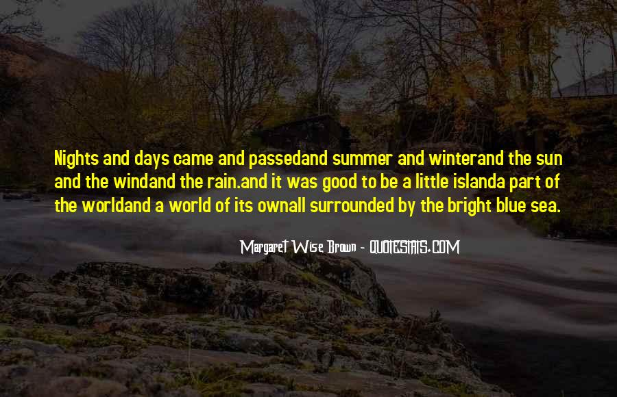 Quotes About The Sun And The Sea #1429172