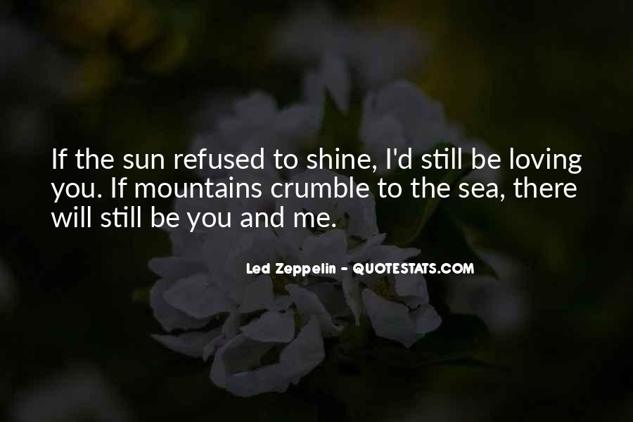 Quotes About The Sun And The Sea #1485677