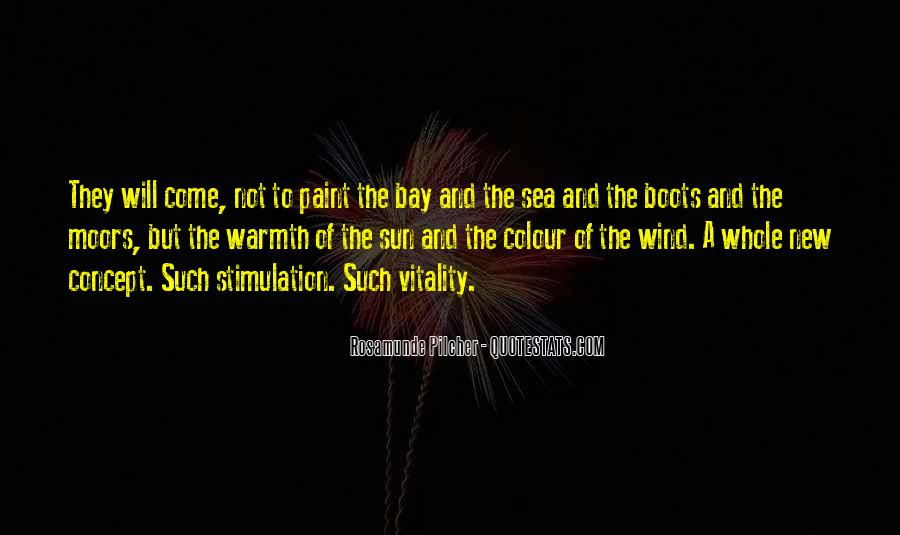 Quotes About The Sun And The Sea #1588614