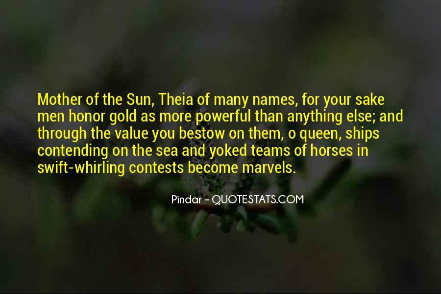 Quotes About The Sun And The Sea #1635852