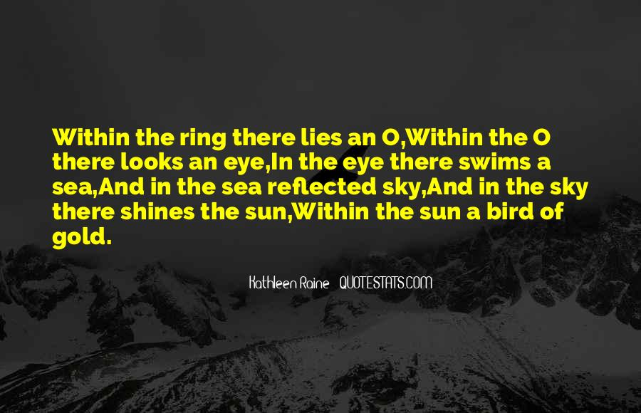 Quotes About The Sun And The Sea #288298