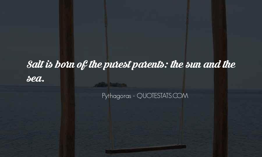 Quotes About The Sun And The Sea #433357