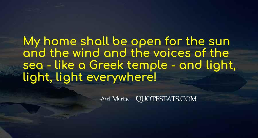 Quotes About The Sun And The Sea #608434