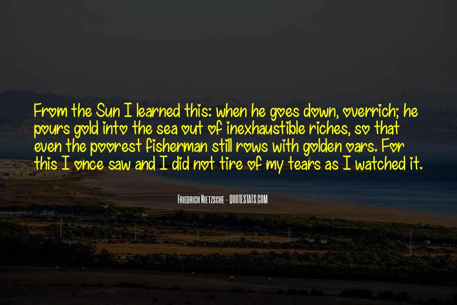 Quotes About The Sun And The Sea #975586