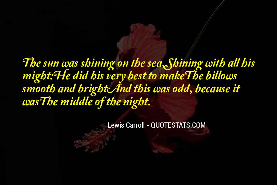 Quotes About The Sun And The Sea #977992