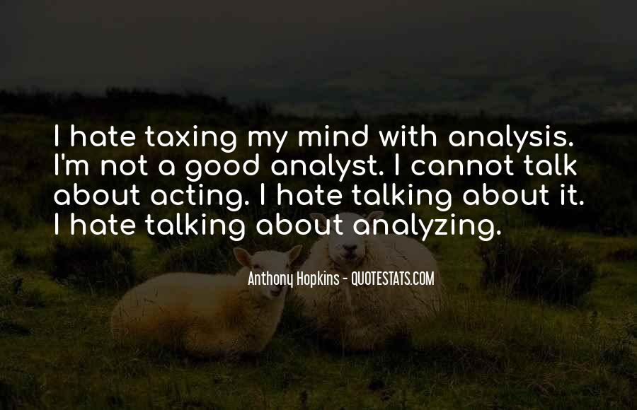 Quotes About Analyzing Yourself #226613