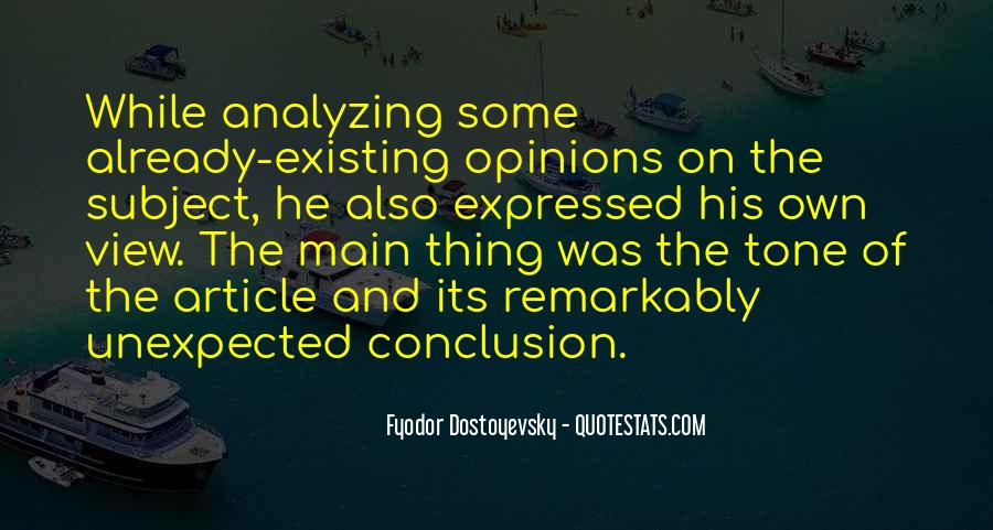Quotes About Analyzing Yourself #275560