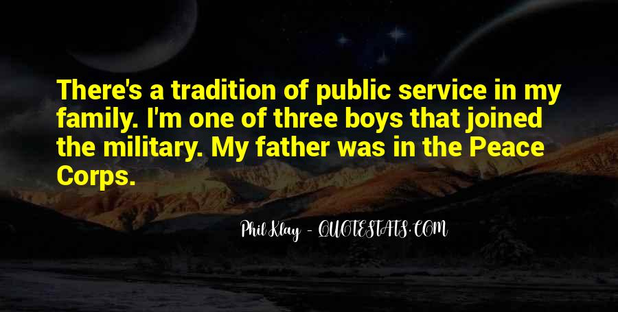 Quotes About The Military Service #101906