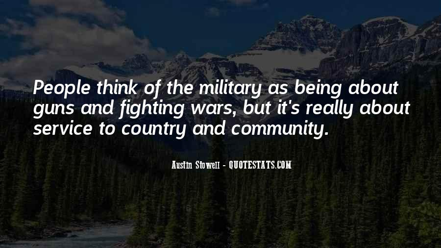 Quotes About The Military Service #1039141