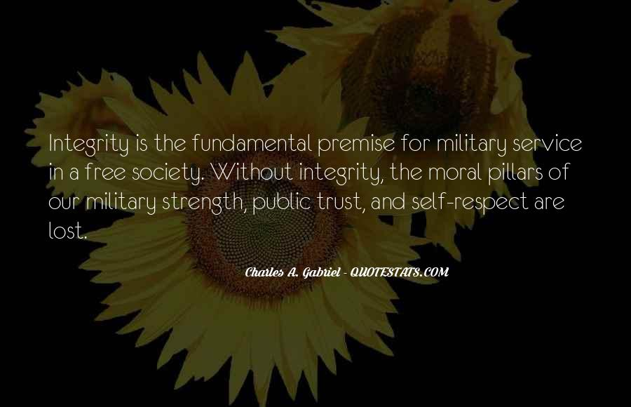 Quotes About The Military Service #1051389