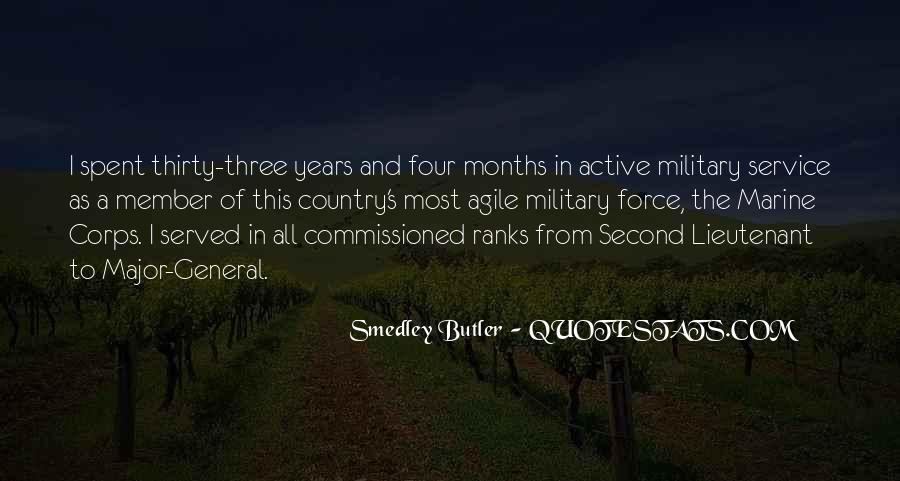 Quotes About The Military Service #1064395